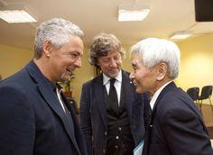"""Il buddismo ha da oggi un suo nuovo centro culturale in Italia: e' il Soka Gakkai inaugurato questa sera a Torino da un testimonial d'eccezione, Roberto  Baggio , legato alla citta' da trascorsi calcistici non dimenticati. """"Ma non sono qui per parlare di calcio - ha detto  Baggio  partecipando"""