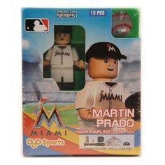 Martin Prado Miami Marlins OYO Sports Player Minifigure