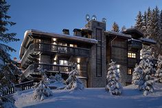 White hot: 3 of the world's most luxe ski resorts: Les Trois Vallées, France (Courchevel)