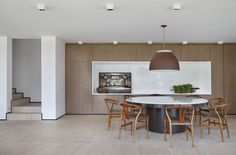 FV House by Studio Guilherme Torres  ...R:  like the tones, the wood panelling and the flooring