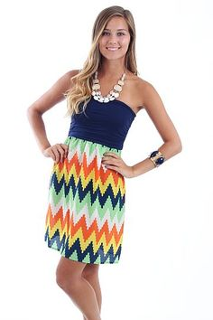 Drive Me Crazy Dress, navy $42 www.themintjulepboutique.com
