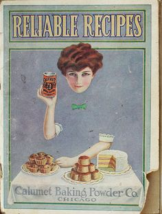 Recipe book cover illustration (1913)