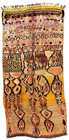 Zenaga. Marokkanische Teppiche aus der Sammlung Adam – Ausstellung – Die Farben des Lichts – Galerie RUMI by Reza Bonakdar