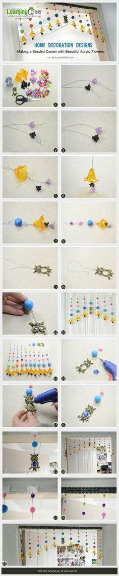 Home Decoration Designs - Making a Beaded ... | Jewelry Making Tutori�� by wanting