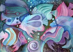 watercolour fish by *karincharlotte on deviantART