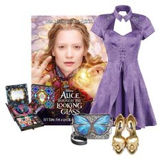 """""""alice"""" by chiarettadesign ❤ liked on Polyvore featuring Urban Decay and Dolce&Gabbana"""