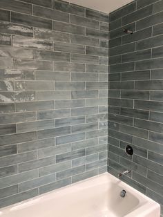 Take a dekko at this for something different completely. walk in shower no glass Gray Shower Tile, Bathroom Tub Shower, Hall Bathroom, Bathroom Interior, Tiled Walls In Bathroom, Home Depot Bathroom Tile, Condo Bathroom, Chic Bathrooms, Bathroom Vanities