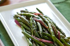 Five-Spice Green Beans