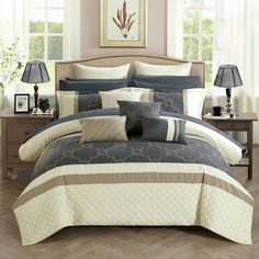 Found it at Wayfair - Camilia 16 Piece Bed in a Bag Set