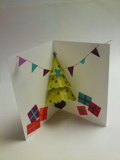 Pop Up Christmas Cards, http://hative.com/pop-up-christmas-cards/,