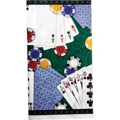 Poker Party 54in x 102in Paper Tablecover by Amscan, Inc. - http://on-line-kaufen.de/amscan/poker-party-54in-x-102in-paper-tablecover-by-inc