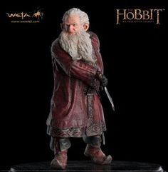 Balin Polystone Statue from The Hobbit An Unexpected Journey. It is made by WETA and is 1:6 scale (approx. 23cm / 9.1in high).    When Balin the Dwarf spoke in the great halls of Erebor, the wise would listen. The council of Fundin's eldest son was much revered among the noble Dwarves of the Lonely Mountain and beyond, for he was clear-sighted, discerning and erudite. Even as a young Dwarf, Balin the Dwarf's artful word-craft was equal to the jewellery of the finest Dwarven smith. A lord in…