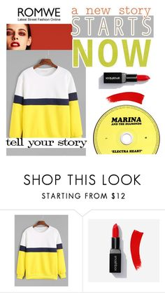 """ROMWE"" by alina-gritsay ❤ liked on Polyvore featuring Chanel and Tim Holtz"