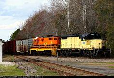FCRD 1602   Description:    Photo Date:  1/12/2012  Location:  Yulee, FL   Author:  Allan Williams Jr.  Categories:  Action  Locomotives:  FCRD 1602(GP16) FCRD 1810(GP10)