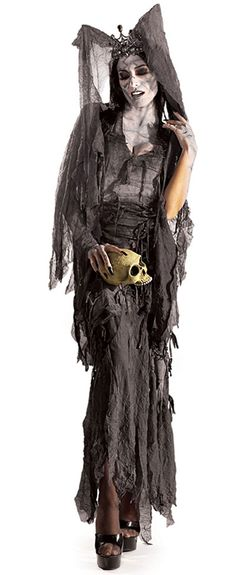 Lady Gruesome Zombie Costume