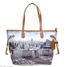 Borsa Donna Y NOT   Shopping Art.C-319 Media New Collection 2014 Stampa 2382d43856b