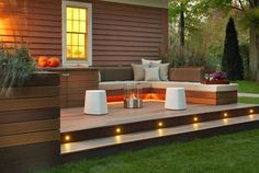 Stunning Backyard Deck Ideas 2016