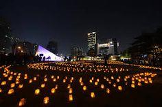 Romantic Candle light, Taichung, Taiwan.