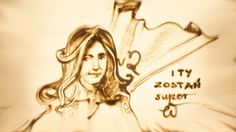 Sand Drawing, Sand Art, Princess Zelda, Drawings, Fictional Characters, Sketch, Portrait, Drawing, Fantasy Characters