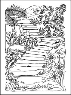 Nature Coloring Books for Adults. 20 Nature Coloring Books for Adults. Nature Coloring Pages for Adults Coloring Pages Nature, Coloring Pages For Grown Ups, Adult Coloring Book Pages, Coloring Pages To Print, Printable Coloring Pages, Coloring Sheets, Coloring Books, Coloring For Adults, Detailed Coloring Pages