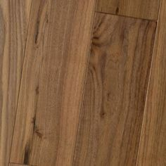 Black Walnut Natural: Amish Soft-Scraped-- #HomerWood Premium Hardwood Flooring