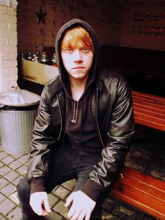 Rupert Grint. I must be pinning too much Harry Potter stuff. Last night I had a very realistic dream bout Rupert. Oh boy.