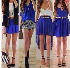 Different Ways To Wear Blue