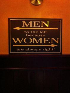 best bathroom sign ever!