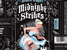 Grimm Brothers Midnight Strikes Black Lager by Emrich Office