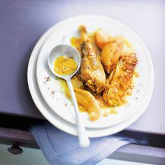 Découvrez la recette Tajine aux coings sur cuisineactuelle.fr.