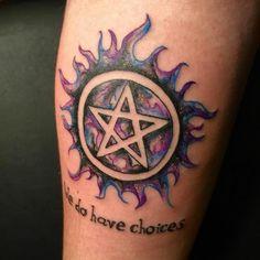 Supernatural Tattoo_