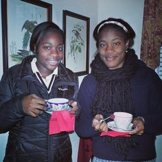 Honor roll students enjoyed a celebratory tea social! #smartscotties #teaparty #honorroll