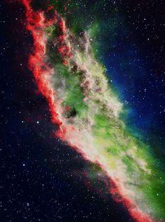 analamasblog:  California Nebula (NGC 1499) is an emission nebula in Perseus