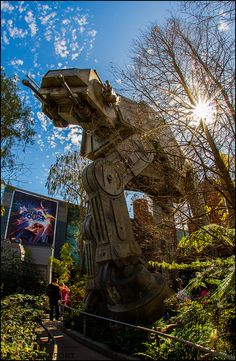 Star Tours at Hollywood Studios.