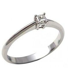Engagement Rings Square Diamond 22