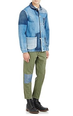 FDMTL Patched Jeans - Skinny - Barneys.com