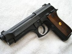 Taurus PT 92 AF 9mm - Got this one in 1991 when it had a 15 round clip, no longer available to my knowledge.