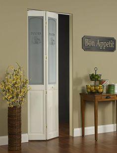 Paneled bifold door Burlap and Tin Doors t Doors Bi