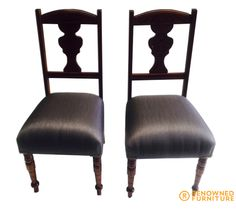 The end of the story for Rhonda's two chairs...fully restored to its old beauty. :)  http://renownedfurniture.com.au/furniture-brisbane/rhonda-betty-more-pieces/    #restoration #furniture