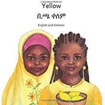 Yellow: In English and Tigrinya Literacy Rate, Book Projects, Book Authors, Learn To Read, Ethiopia, Childrens Books, Books To Read, English, Yellow