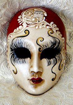 Resultado de imagem para venetian porcelain masks