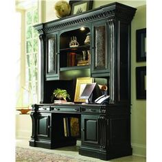 Hooker Furniture Telluride Computer Credenza & Hutch