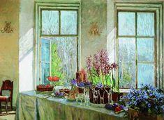 The Athenaeum - Easter (Stanislav Zhukovsky - )