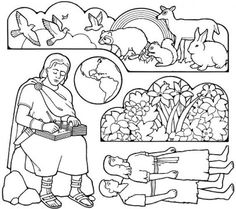 9 Best Preschool Bom Stories Coloring Pages And Activities Images