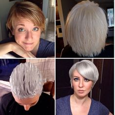 Part of Going blonde. Doing so much research lately this is truly intense.