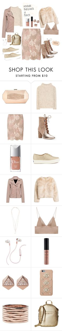 """""""I got a nude attitude"""" by versastyle-sel ❤ liked on Polyvore featuring INC International Concepts, Tom Ford, Dorothy Perkins, Sigerson Morrison, Christian Dior, Keds, IRO, Lana Jewelry, T By Alexander Wang and Merkury"""