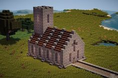 Simple Church Minecraft Project Minecraft projects Minecraft designs Minecraft creations