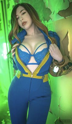 Fallout - by Pia Fallout Bos, Fallout Game, Piper Fallout, Fallout Costume, Fallout Cosplay, Fallout Wallpaper, Fallout Concept Art, Video Games Girls, Doja Cat