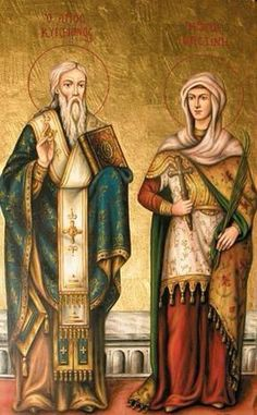 St. Constantine and His Mother Helen
