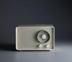 Less and More – The Design Ethos of Dieter Rams, T 1000 Portable radio by Dieter Rams, 1963, Manufacturer: Braun GmbH, Photo Koichi Okuwaki.